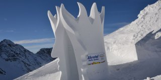 Snow sculpture festival
